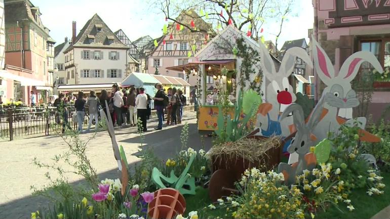 Pâques à Colmar, le jardin de Pierrot