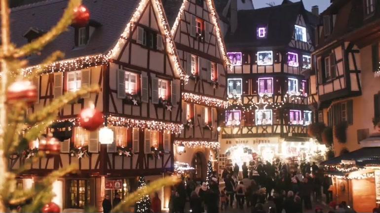 Image De Noel En Alsace.Les Marches De Noel En Alsace